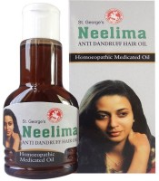 St.George's Neelima Anti Dandruff Pack Of 2 Hair Oil (120 Ml)