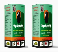 Dr.Rao's Keshovin(Herbal Hair Oil)(100ml)(Pack Of 2) Hair Oil (200 Ml)