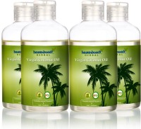Healthbuddy Herbal Virgin Coconut Pack Of 4 Hair Oil (800 Ml)