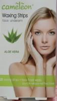 Cameleon Waxing Strips Face UnderArm Aloe Vera Flavor (20)