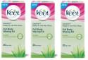 Veet Full Body Waxing Kit Dry (Pack Of 3) - 100 G