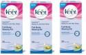 Veet Full Body Waxing Kit Sensitive (Pack Of 3) - 100 G