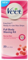 Veet Full Body Waxing Kit - Normal Skin (Pack Of 1) (0 G)