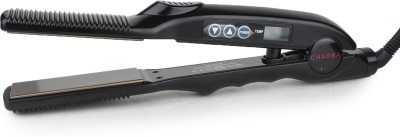 Chaoba Professional With Heat Adjusting Facility Hair Straightener (Black)