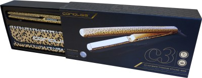Corioliss C3 Super Slim Leopard Hair Straightener (Gold)