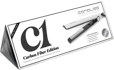 Corioliss White Carbon Fibre Hair Straightener