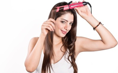 Nova 2 In 1 Advanced Beauty Styler NHS 800/00 Hair Straightener (Pink)