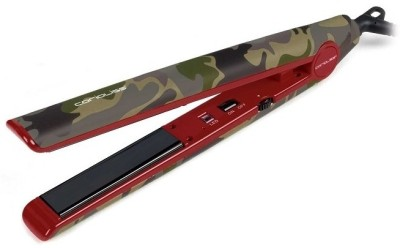 Corioliss C1 Limited Edition Camouflage Professional Hair Straightener (Green, Red)