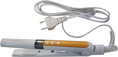 Pritech Superior Quality pr-1035 Hair Straightener (Yellow, White)