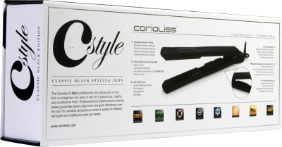 Corioliss City Style Black Tourmaline Ceramic Hair Straightener