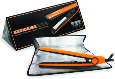 Corioliss C1 Professional Titanium Salon Styling Hair Straightener (Orange)