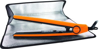 Corioliss C1 Professional Titanium Salon Styling Hair Straightener (Orange)