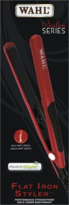 Wahl Flat Iron Styler Hair Straightener (Red)
