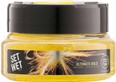 Set Wet Hair Styling Set Wet Ultimate Hold Gel Hair Styler
