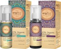 Aryanveda Herbals 100% Moroccan Argan Hair Oil & Shampoo Combo Pack (200 Ml)