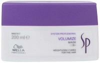 Wella Professionals Sp Volumize Mask 3 Weightlessly Care (200 Ml)