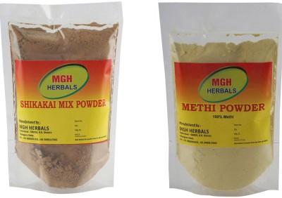 MGH Herbals MGH Herbals Shikakai and Methi Powder Combo