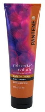 Pantene Relaxed and Natural Daily Oil Cream Moisturizer