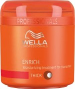 Wella Enrich moisturizing treatment mask for dry, damaged hair