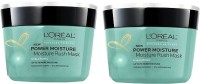 L'OREAL Paris Power Moisture Moisture Rush Mask (Pack Of 2) (500 Ml)