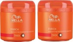Wella Enrich Moisturizing Treatment Mask For Dry, Damaged Hair Combo