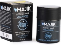 Majik Hair Building Fiber 7 Gm Grey With Bonding Spray (7 G)
