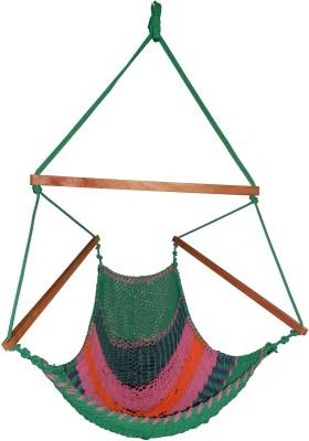 Royallyrelax Handmade Rope Cotton Hammock (Multicolor)
