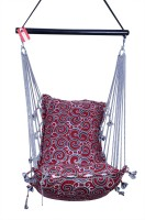 Kkriya Home Decor Swing King Cotton Hammock (Red)