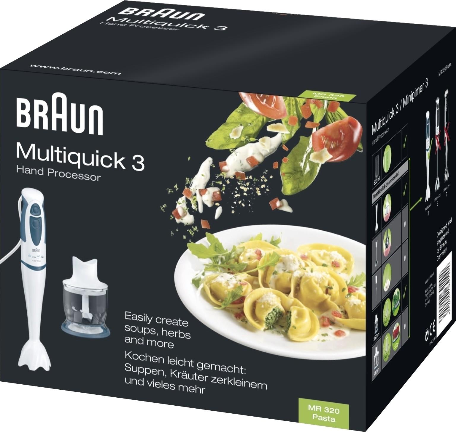 Braun MR320 450 W Hand Blender