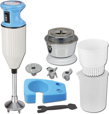 Desire Power 225 W Hand Blender (White, Blue)