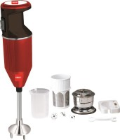 Cello CPXP350MAROON+ 350 W Hand Blender (Maroon, Black)
