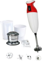 Cello QP15 350 W Hand Blender (White, Red)