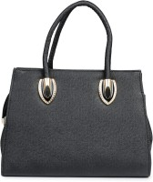 Naitik Products Plain Purse-02 Hand-held Bag Black