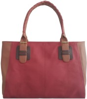 Toteteca Bag Works Neoclassic Hand-held Bag (Cranberry)