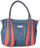 Elvine Beautiful Women Hand-held Bag Blue-Red