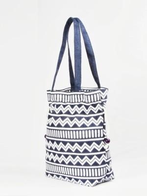 Jute Tree Geo Surukku Big Shoulder Bag Blue available at Flipkart for Rs.310