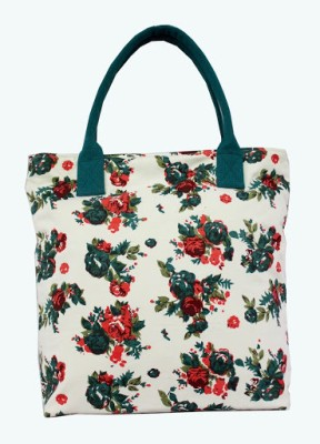 Carry On Bags Floral Shoulder Bag Cream
