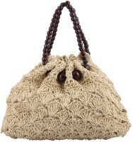 Jewelizer Bamboo Hand-Held Bag Cream