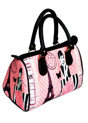 Beauty Beauty Secrets Digital Printed Hand-Held Bag (Multicolor)