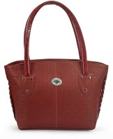 RRTC Trendy And Elegant Hand-Held Bag Maroon