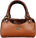 Justclik Small Leather for Women Hand Bag - Brown
