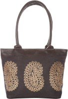 Jute Cottage 3 Mango Print Shoulder Bag (Black)