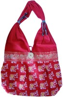 ADS Jhola Handicraft Shoulder Bag Red