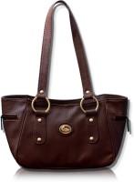 Fostelo Leather Titanic Hand Bag Brown