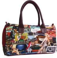 Carry On Bags Retro Quirky Print Hand-held Bag - Multicolor