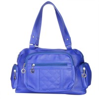 Monte Michelin Hand-held Bag Blue-01