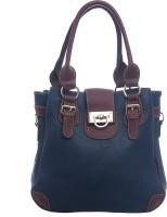 Satchel Bags & Accessories U Twist Lock Hand-held Bag Blue-04