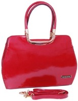 Womaniya Ethnic Silver Rose Collection-68 Hand-held Bag Red