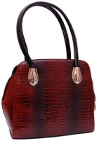 Womaniya Ethnic Hand-held Bag Brown