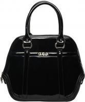 Gqp Accessories Elan Handbag (Midnight Black) Hand-held Bag - Midnight Black